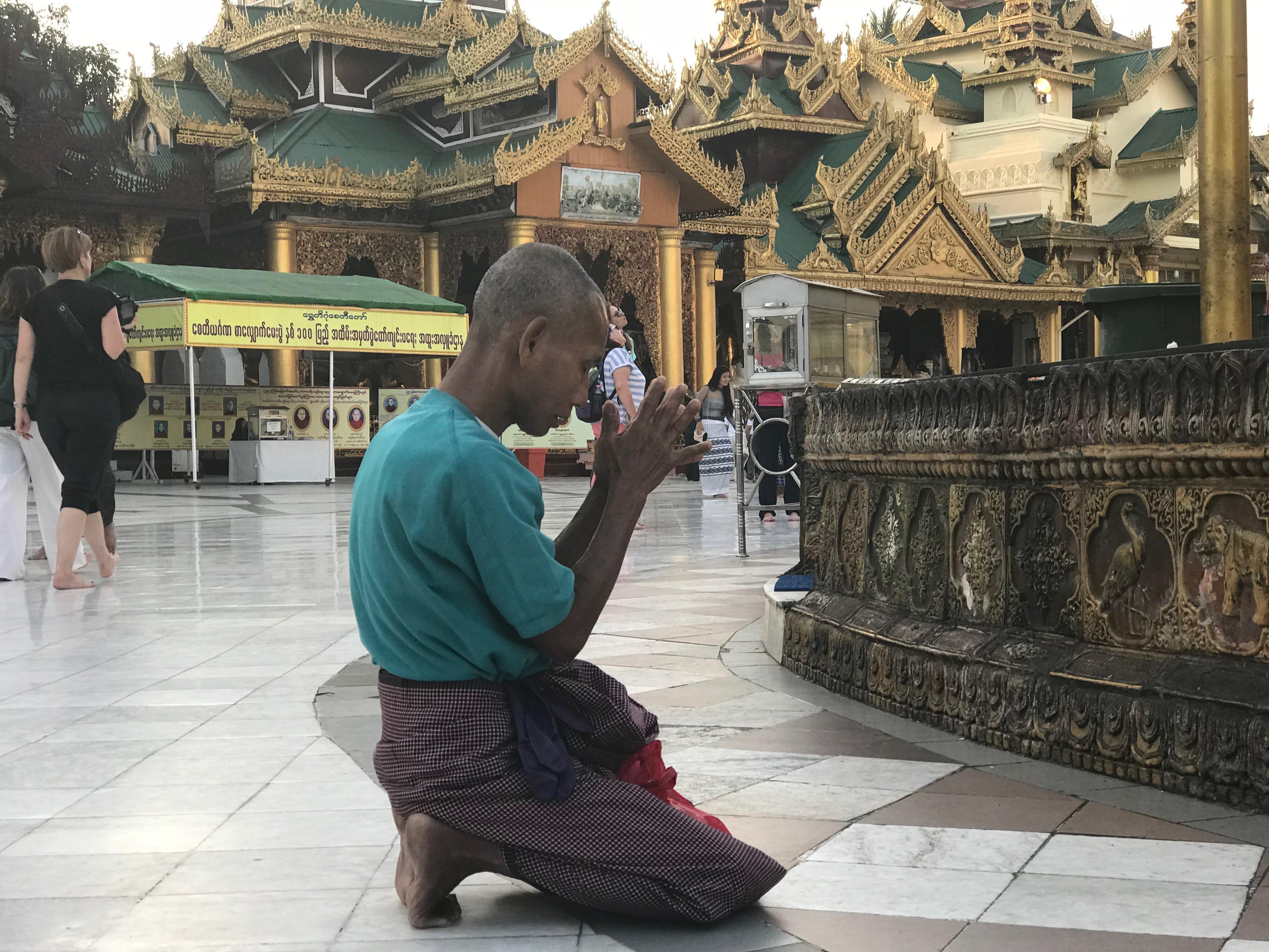 青年團隊觀察宗教信仰對緬甸在地居民生活的重要性與意義