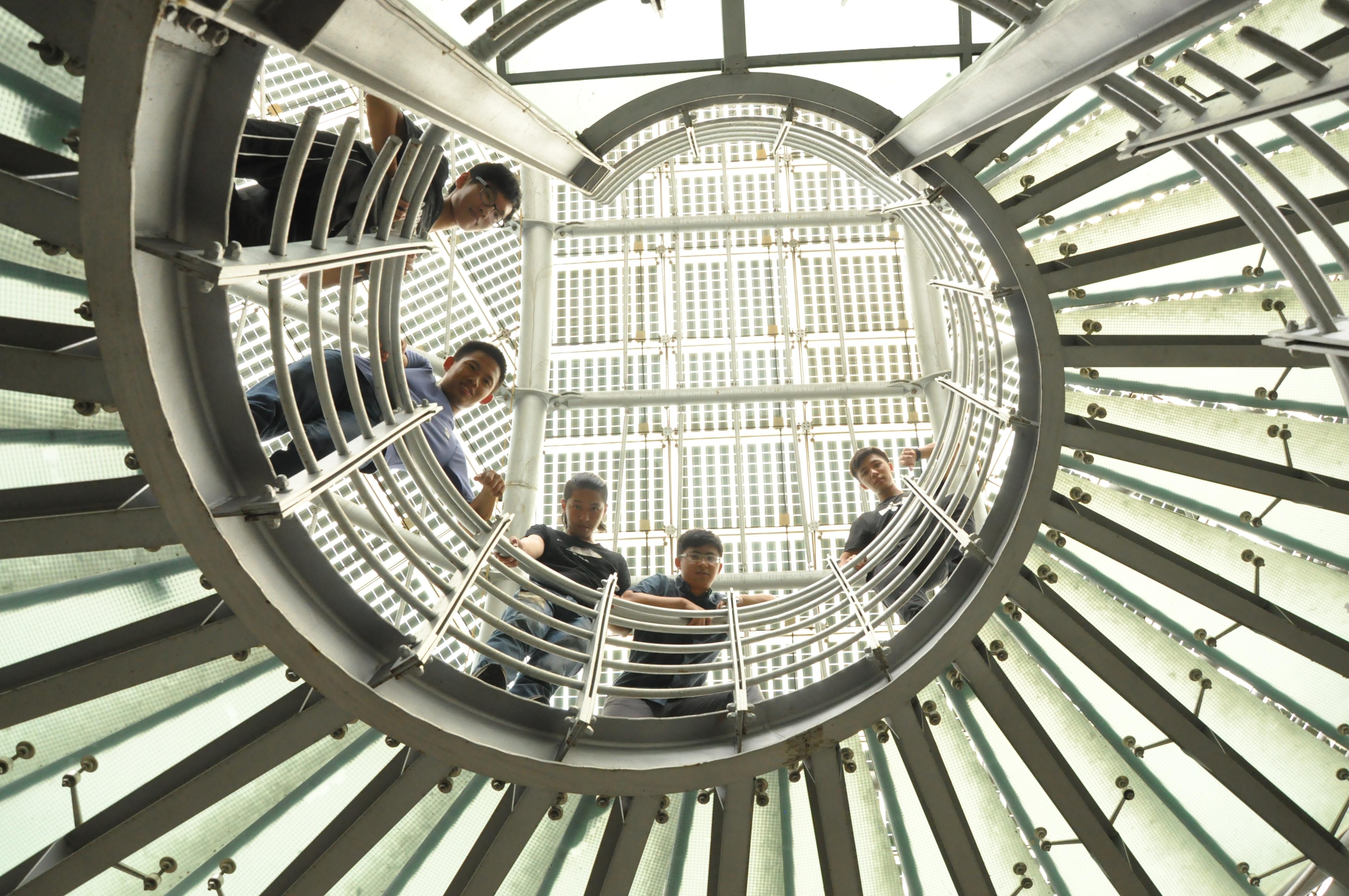 「千陽電機少年」團隊於南瀛綠都心-太陽旋律下的立體空間