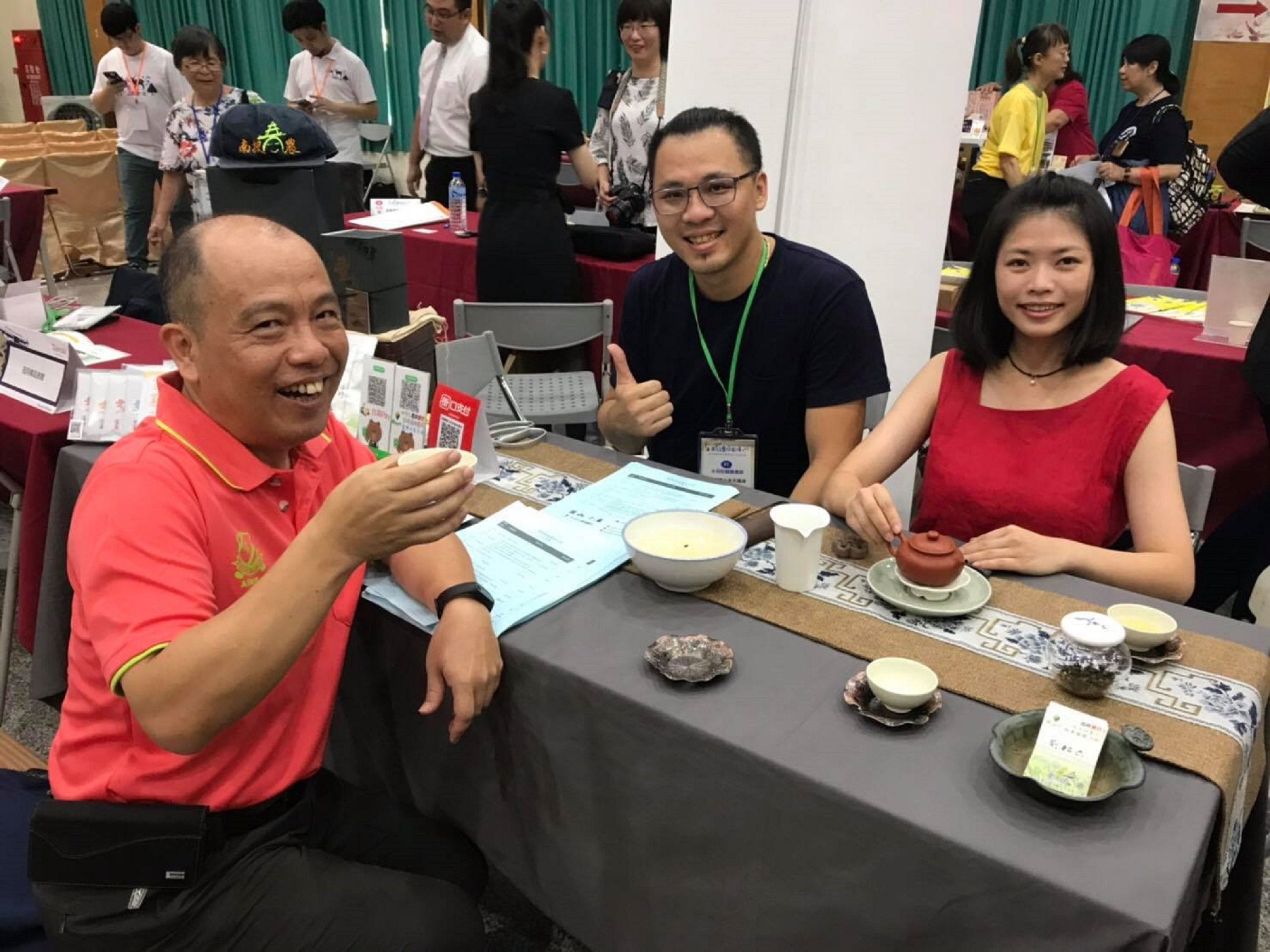 圖一:在日月潭國家風景區進行豐之茶旅、實行在地業者串連